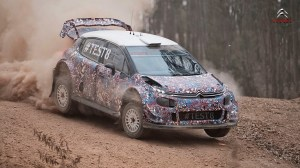 Citroën C3 WRC 2017 - #TEST8