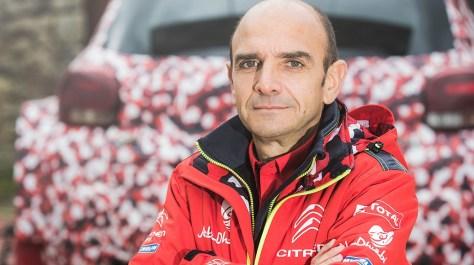 Руководитель Citroën Racing Пьер Бюдар