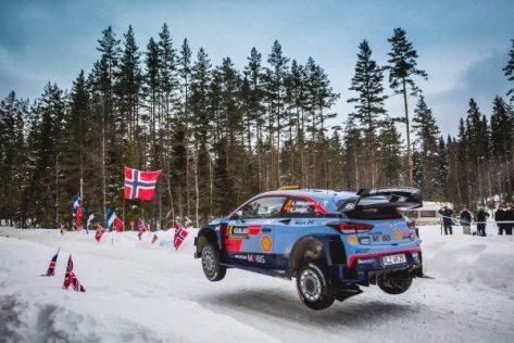 Ралли Швеции 2018 -Андреас Миккельсен - Хёндэ