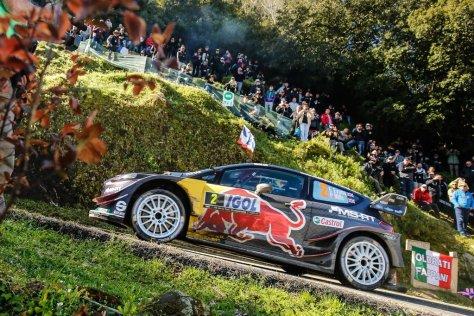 Тур де Корс 2018 - Элфин Эванс - М-Спорт Форд