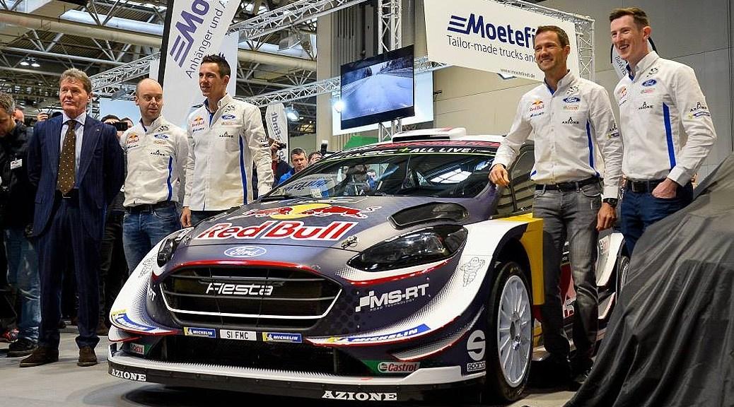 М-Спорт Форд - Ford Fiesta WRC 2018