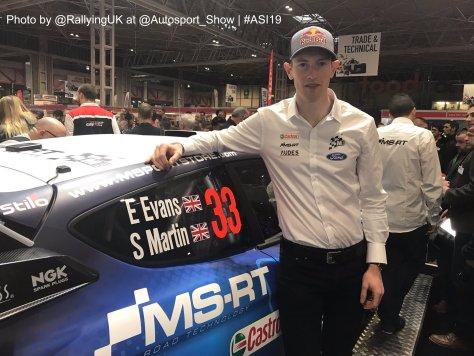 Autosport International 2019 - Элфин Эванс - М-Спорт Форд