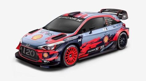 2019 - Hyundai i20 Coupe WRC