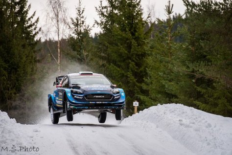 Ралли Швеции 2019 - Элфин Эванс - М-Спорт Форд