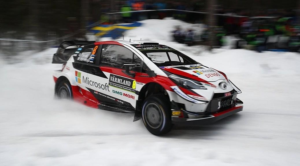 Ралли Швеции 2019 - Отт Тянак - Тойота