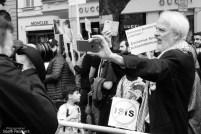 AlQuds-Tag in Berlin, Jürgen Grassmann gegen Pressefotografen, 2016