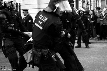 """Gegenprotest """"Marsch für das Leben"""", Berlin 2015"""