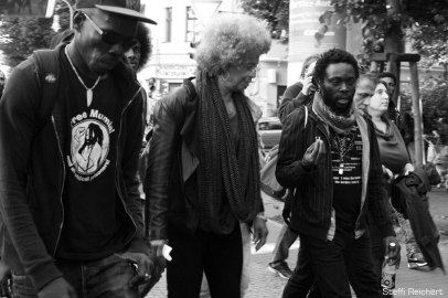 "Angela Davis 2015 in Berlin: ""The Refugee movement is the movement of the 21st Century"""