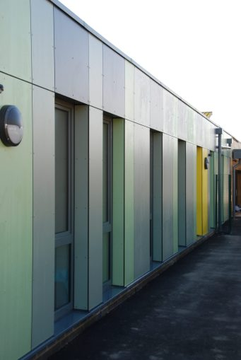 Offsite Manufactured Extension to School