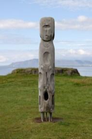 Skulptur am Sigurjón-Ólafsson-Museum, Reykjavík