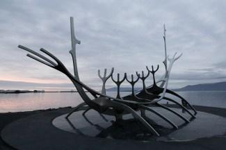 Sun Voyager, Reykjavík
