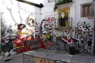 Street Art wohin man sieht