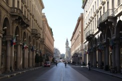 Via Roma, in Richtung Bahnhof Porta Nuova