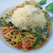 Spaghettini mit Frühlingsmorcheln