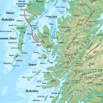 von Scarp nach Skye