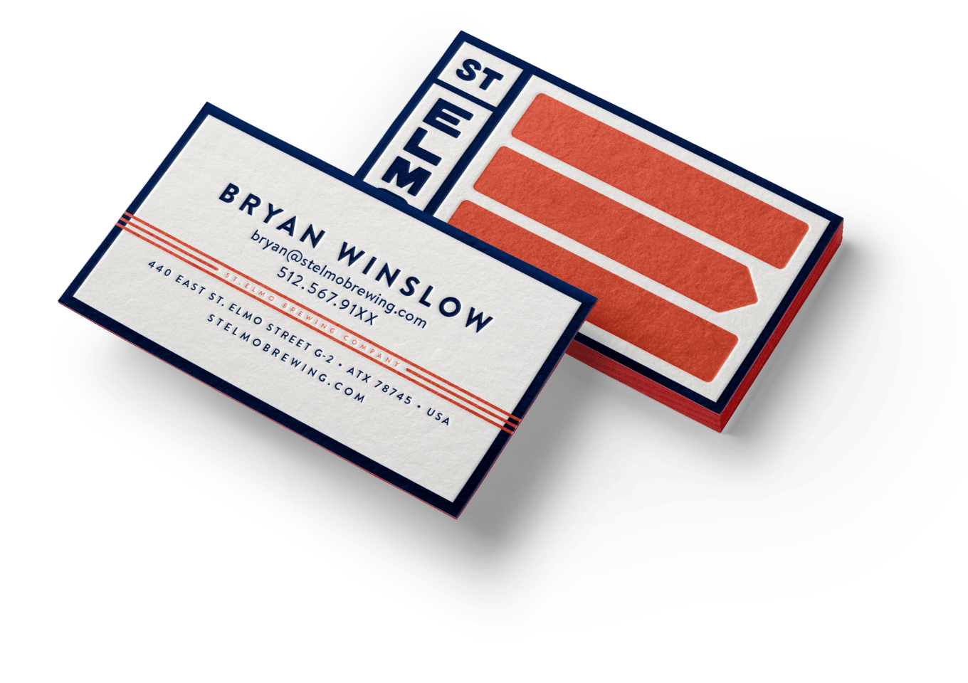 St.Elmo Business Cards