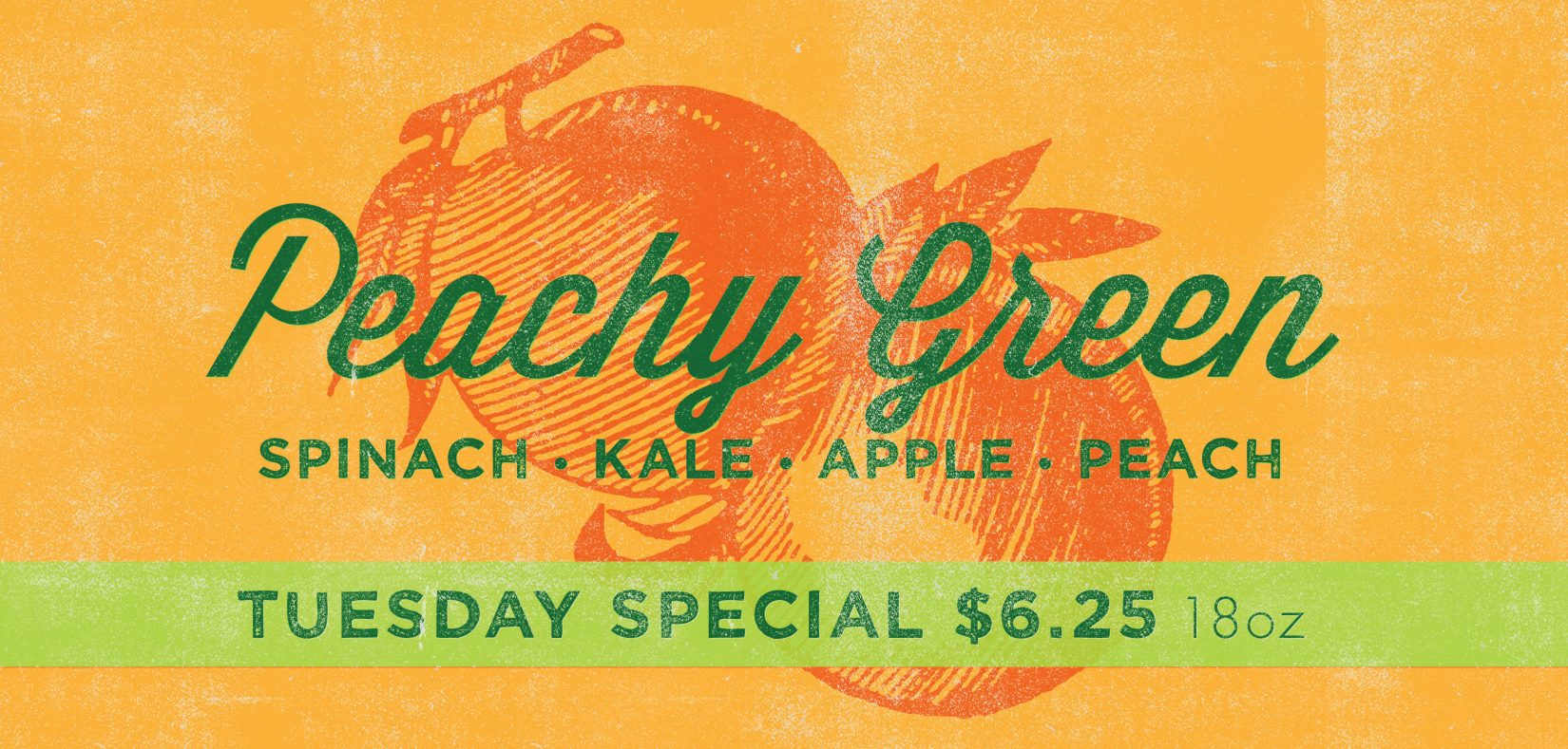 Peachy Green special