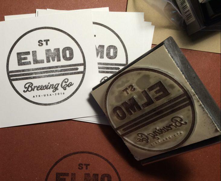 St.Elmo Hand Stamp