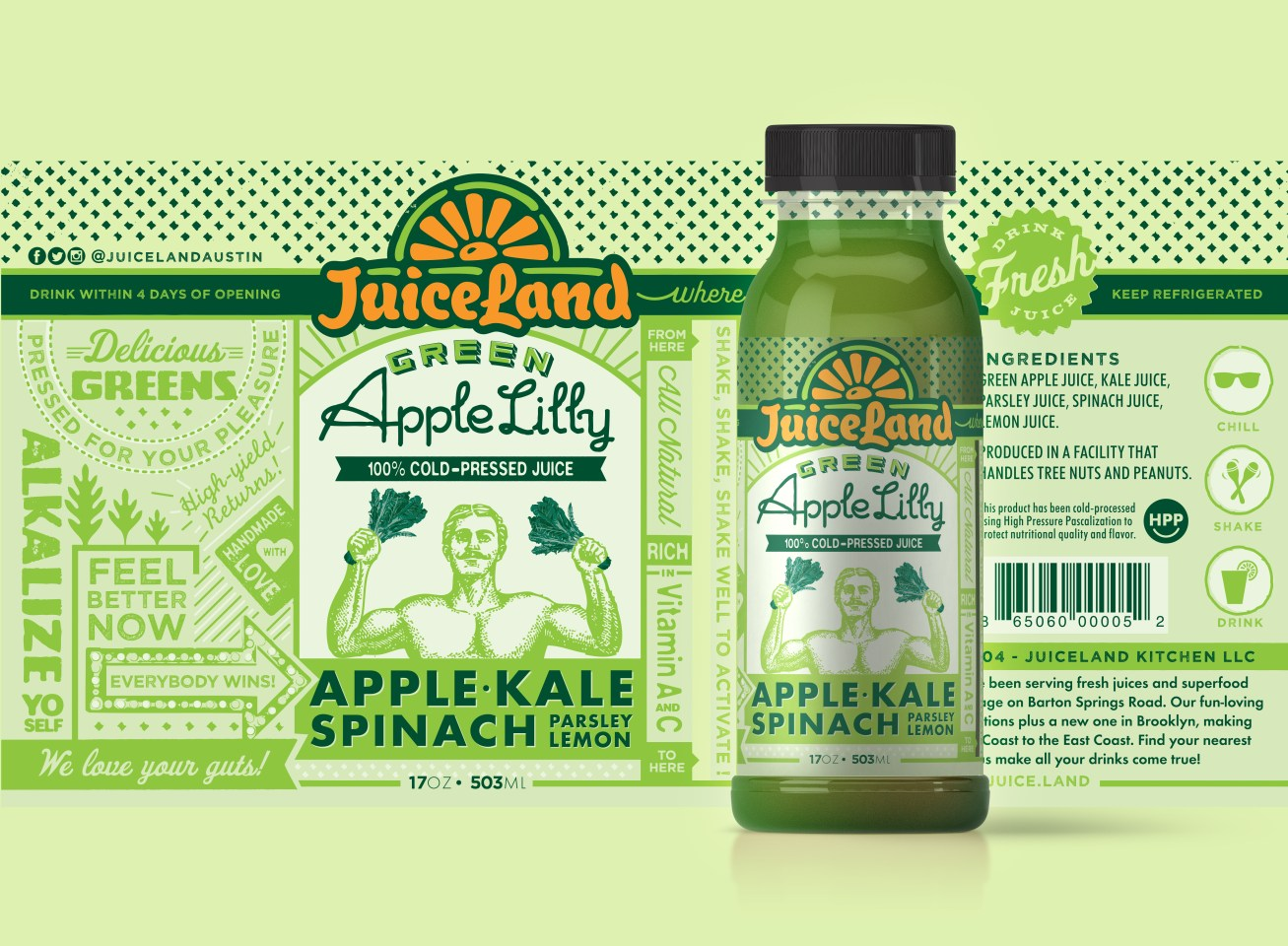 AppleLilly Label