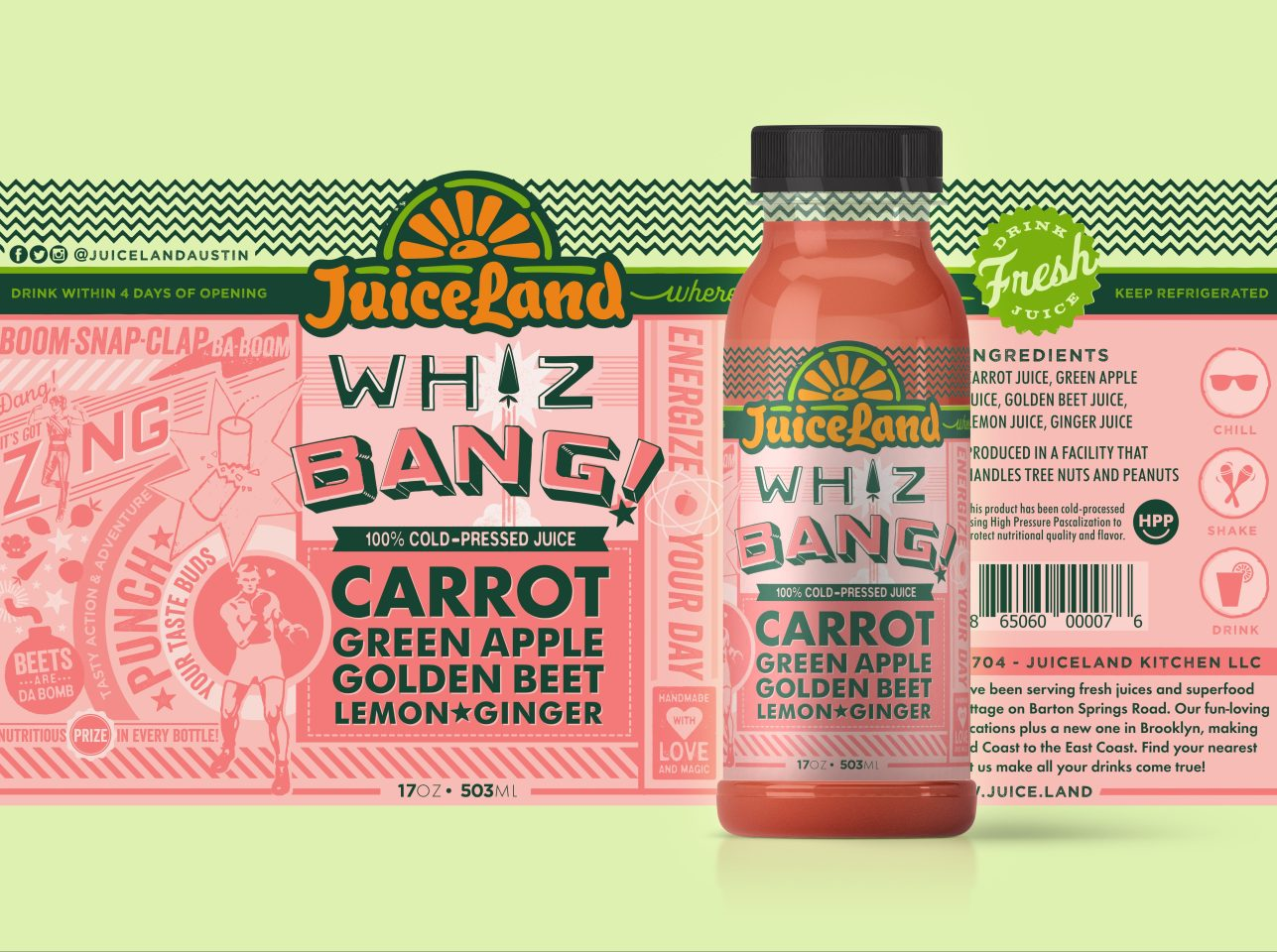 Whiz Bang Label