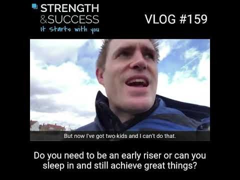 VLOG 159 – What is productive for YOU?