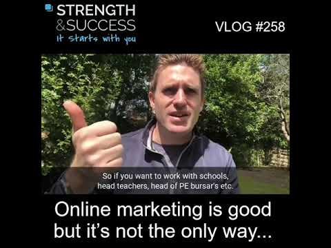 VLOG 258 | Online marketing is good but it's not the only way….