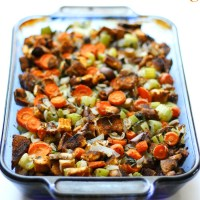 The Best Gluten-Free Vegan Stuffing