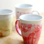 Diy Marbled Nail Polish Mugs