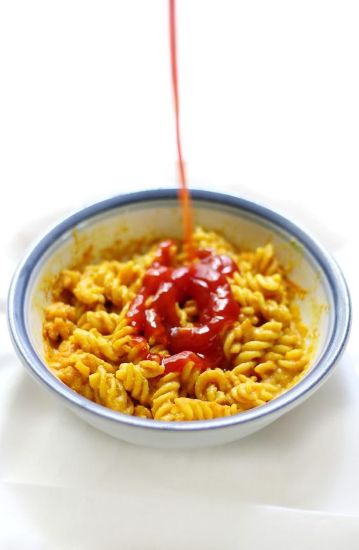 microwave gluten free vegan mac