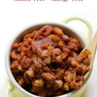 Old-Fashioned Vegan Baked Beans (Gluten-Free, Allergy-Free)