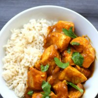 Easy Dairy-Free Indian Butter Chicken (Gluten-Free, Paleo, Allergy-Free)