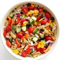 Cold Italian Pasta Salad (Gluten-Free, Vegan, Allergy-Free)
