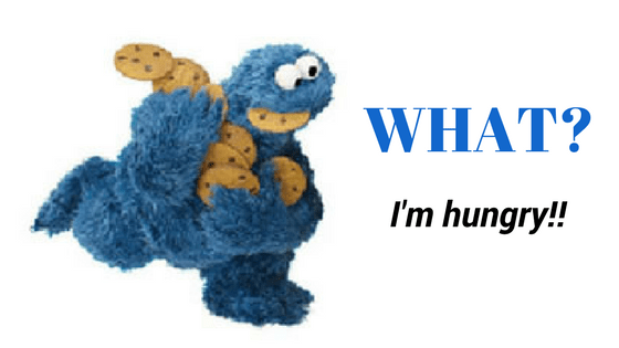 Channeling the Cookie Monster? How to recognize Hunger Cues!
