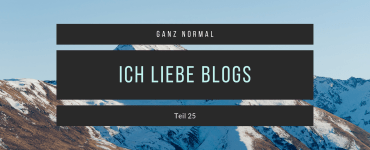 Ganz Normal Blog Folgenlabel