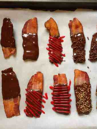 """Man Candy"" (aka: Chocolate-Dipped Bacon)"