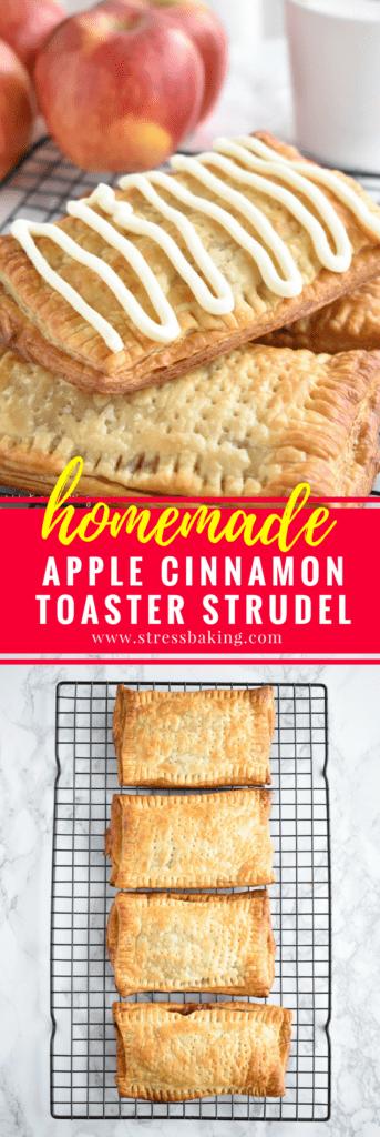 Homemade Apple Cinnamon Toaster Strudels