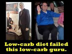 Low Carb Diet failed the Diet Guru who espoused it