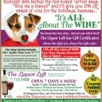 Liquor Loft Holiday Ad 2011