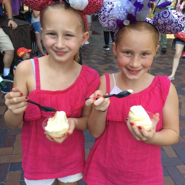 girls with their own dole whip