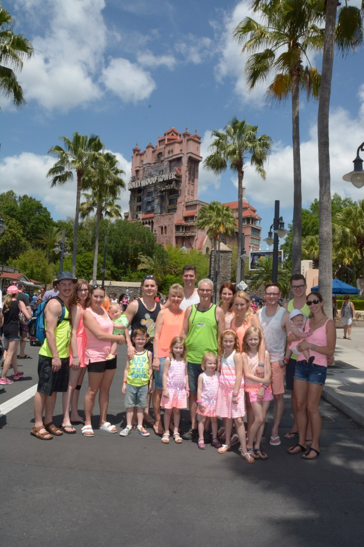 Hollywood Studios: group photo