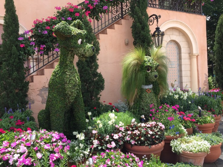 Epcot topiaries
