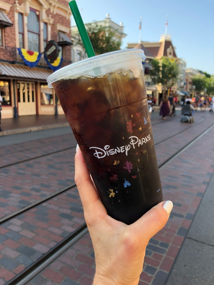 food at Disneyland: coffee