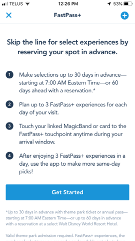 booking a last minute trip fast passes