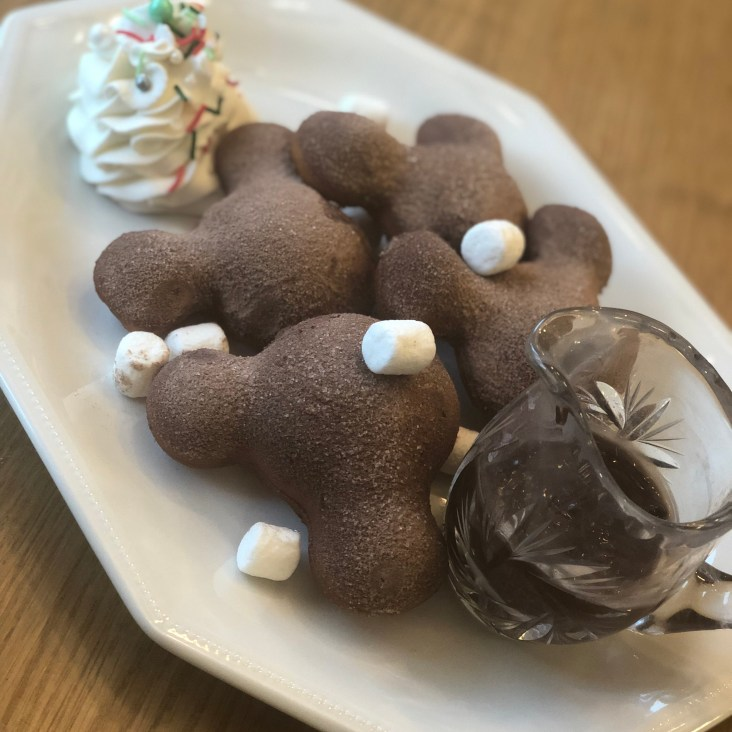 Hot Chocolate Beignets