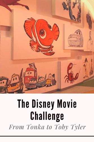 The Disney Movie Challenge