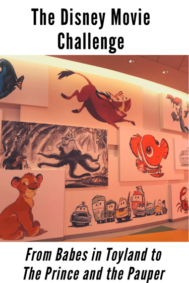 The Great Movie Challenge with an Art wall of Animated favourites