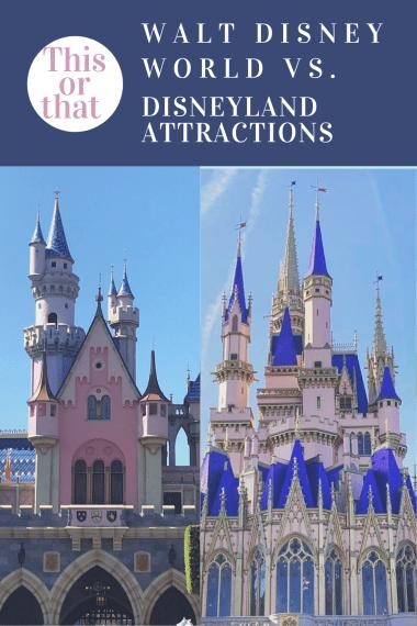 Disneyland and Walt Disney World Castles