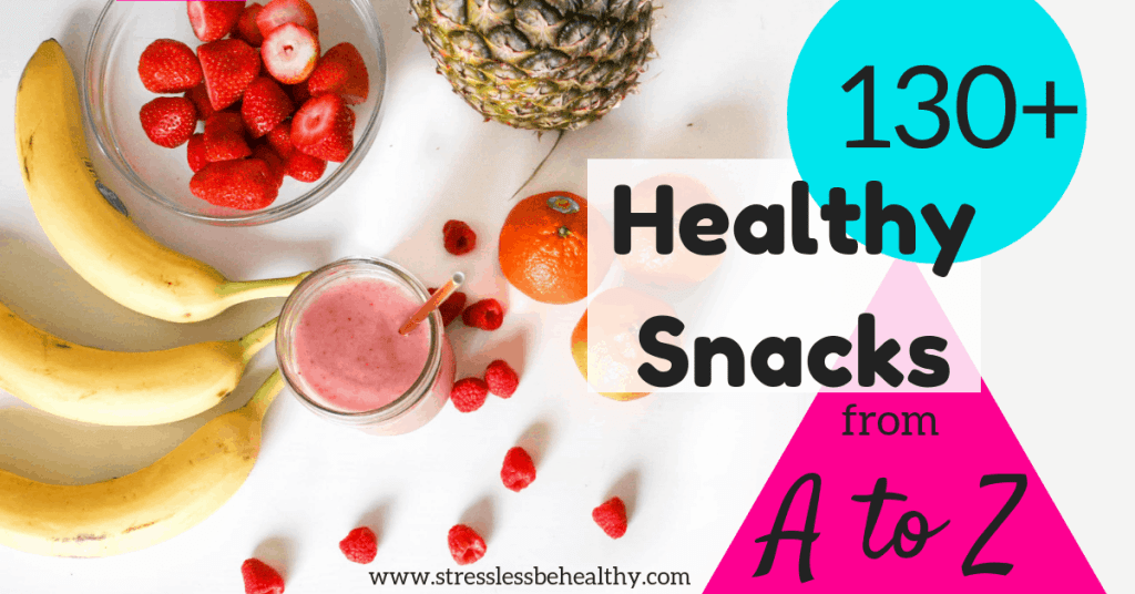 fruit and smoothie, leads to over 130 healthy snack ideas from a to z, alphabet snacks