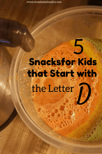 snacks that start with d