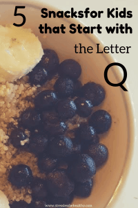 snacks that start with q